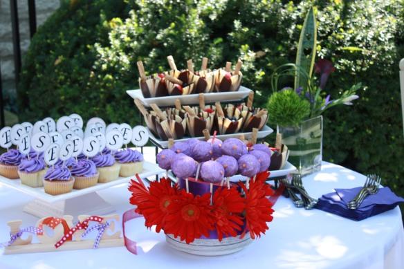 Tying The Knot Bridal Shower Dessert Bar || Sarah Sofia Productions