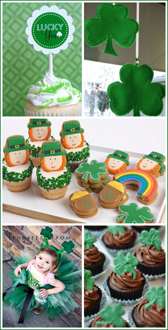 St. Patrick's Day Inspiration from Half Baked - The Cake Blog