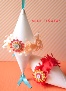 DIY Mini Pinatas from One Charming Party
