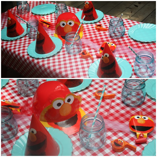 Elmo Themed Birthday Party