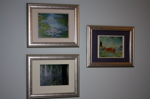 Wall Art Master Bedroom Monet Prints