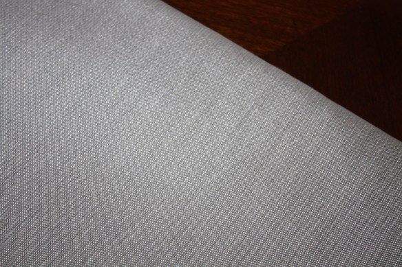 Fabric Find Grey Trim