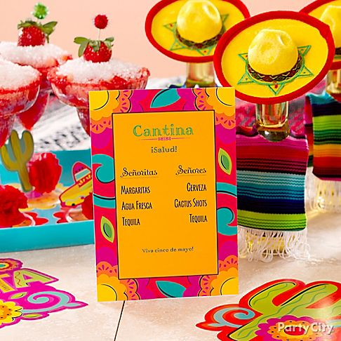Cinco de Mayo Party City Tableware