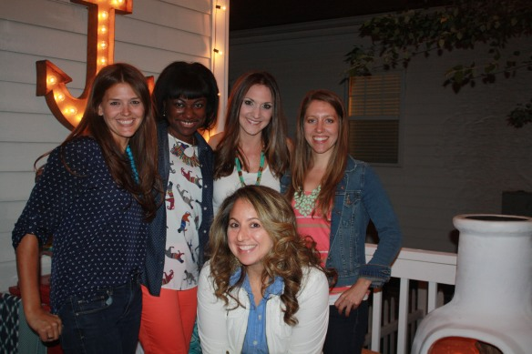Professional Blogger Fiesta: Summer (Simple Stylings),Cheryl Luckett (Dwell By Cheryl), Mallory Fitzsimmons (Charming in Charlotte), Jennifer Burnham (Pure and Simple Organizing) & me Sarah Sofia Knepp (Sarah Sofia Productions)