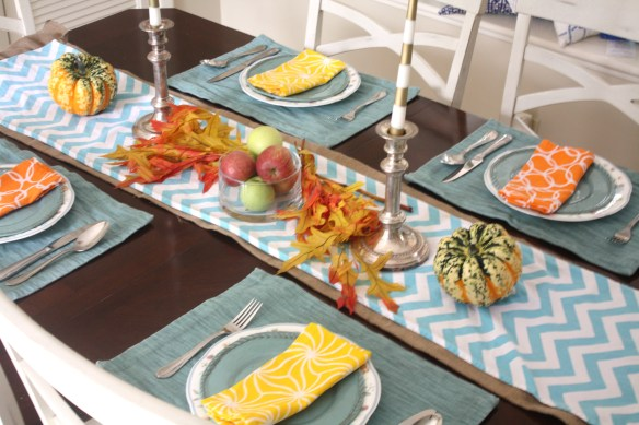 Festive Fall Decor Tablescape