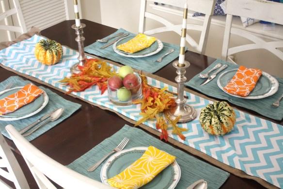 Festive Fall Decor Tablescap