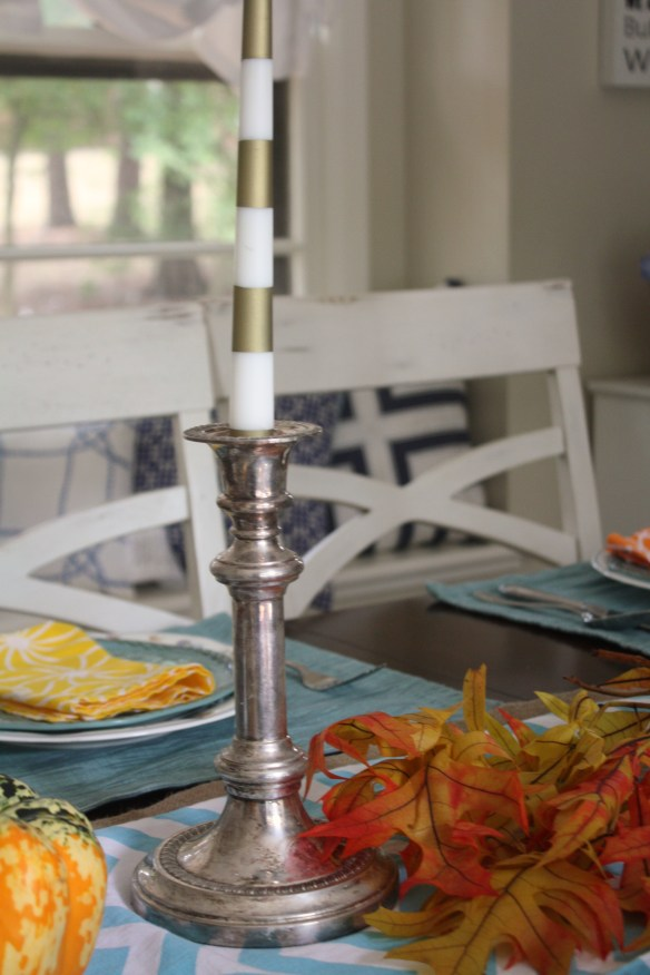 Festive Fall Decor Tablescape