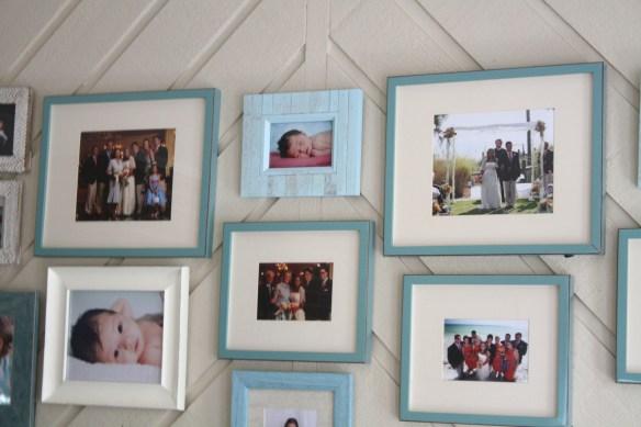 Blue and White Bash: Family Room Sneak Peek