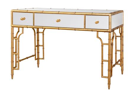 Faux Bamboo Desk