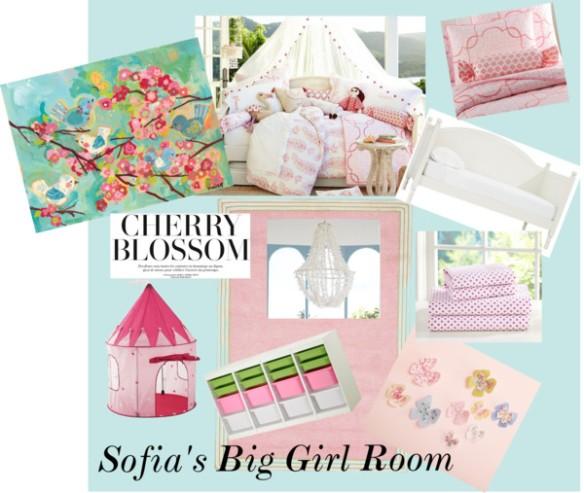Sofia's Big Girl Room