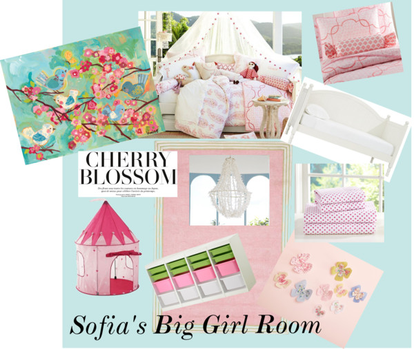 Sofia's Big Girl Room