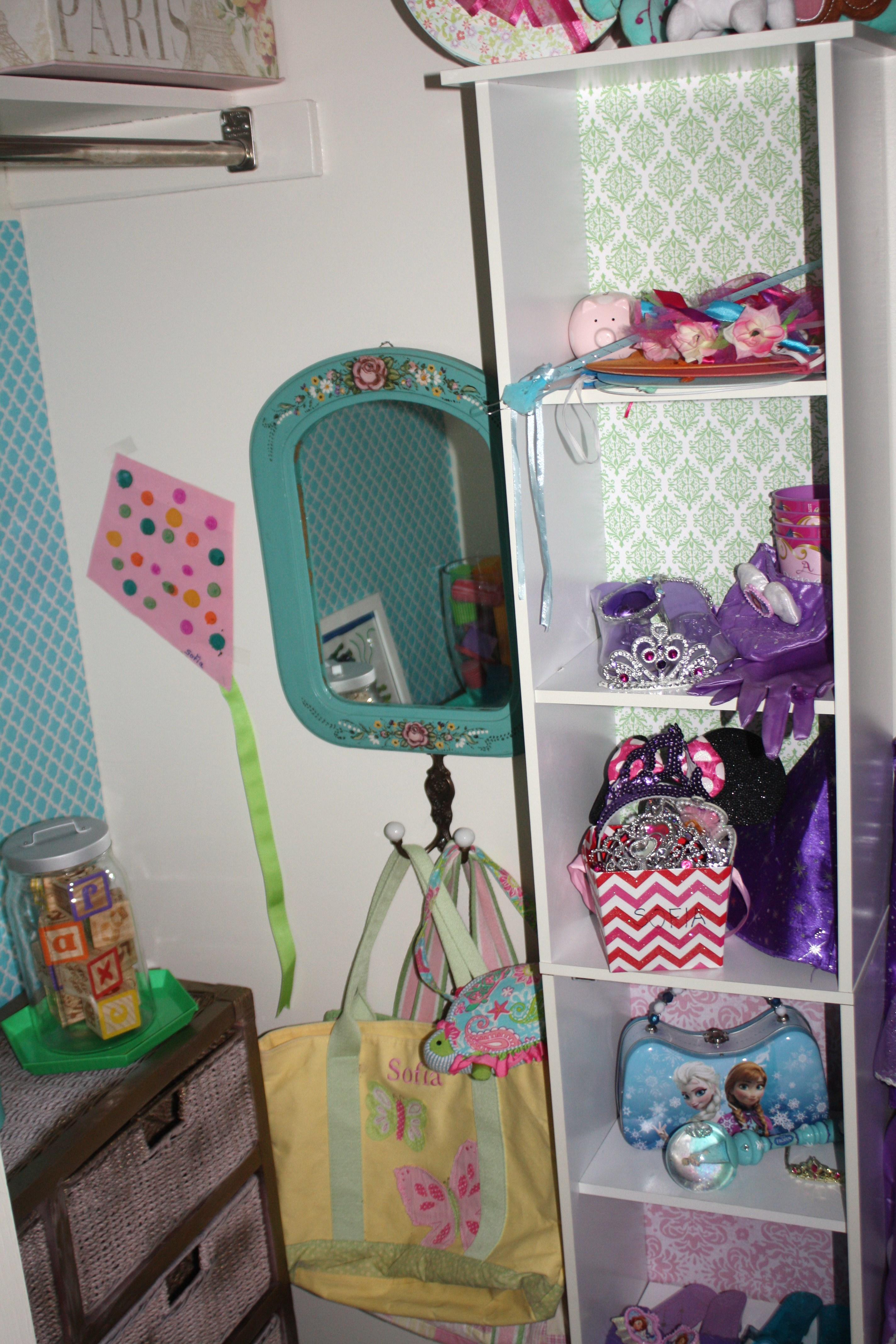 Big Girl Room Closet