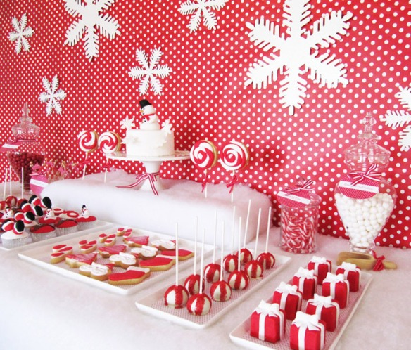 Christmas Dessert Bar via Amy Atlas