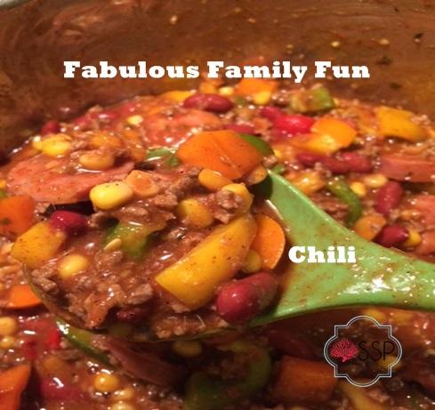 Fabulous Family Fun Chili