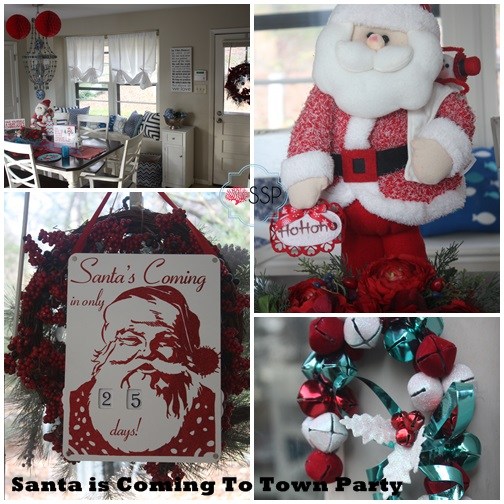 Santa Claus is Comig to Town Party 6