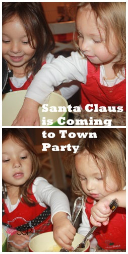 Santa Claus is Coming to Town Party