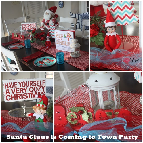 Santa Claus is Coming to Town Party 3