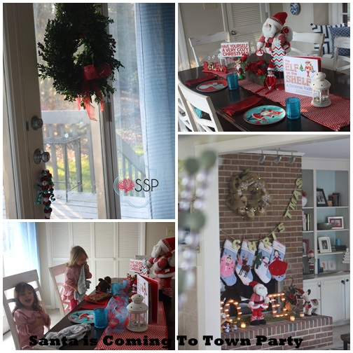 Santa is Coming to Town Party