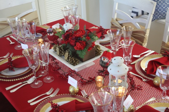 Christmas & Holiday Tablescape