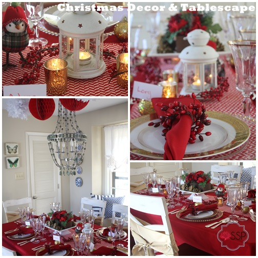 Christmas Decor and Tablescape