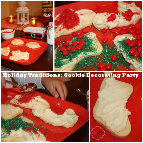 Holiday Traditions Cookie Decorating Party