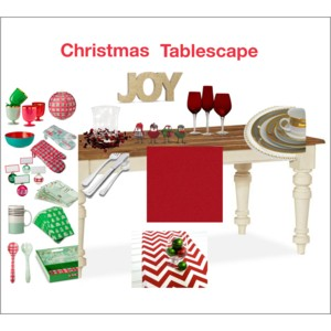 Christmas Tablescape Inspiration