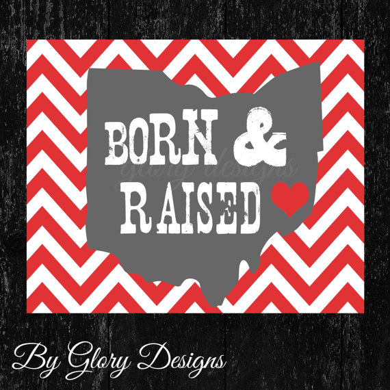 Born and Raised Instant Downloads GLory Designs