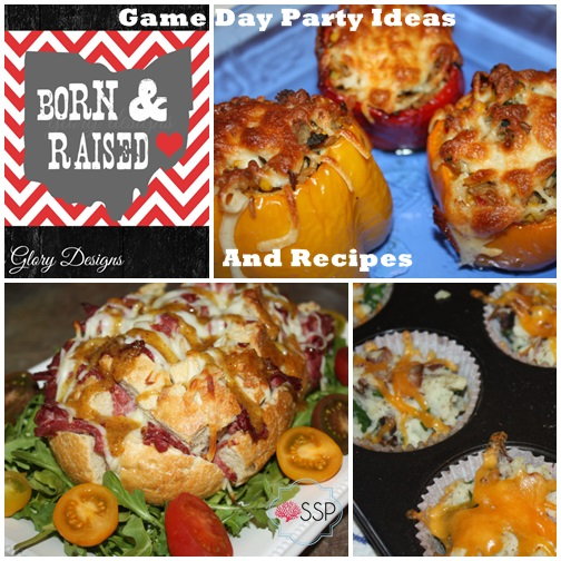 Game Day Party Ideas and Recipes
